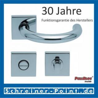 Scoop Baloo quadrat PullBloc Quadratrosettengarnitur, Rosette Edelstahl poliert - Vorschau 3