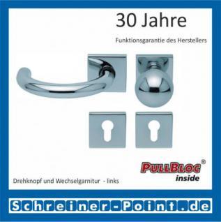 Scoop Baloo quadrat PullBloc Quadratrosettengarnitur, Rosette Edelstahl poliert - Vorschau 5