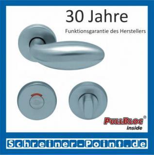 Scoop Boby PullBloc Rundrosettengarnitur, Rosette Edelstahl matt - Vorschau 4