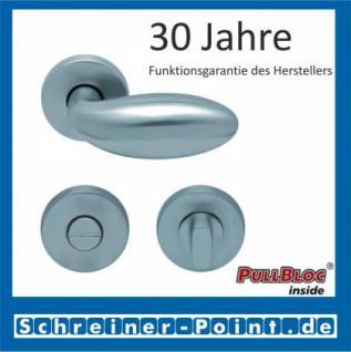 Scoop Boby PullBloc Rundrosettengarnitur, Rosette Edelstahl matt - Vorschau 3