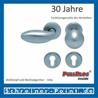 Scoop Boby PullBloc Rundrosettengarnitur, Rosette Edelstahl matt - Vorschau 5