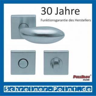 Scoop Boby quadrat PullBloc Quadratrosettengarnitur, Rosette Edelstahl matt - Vorschau 3