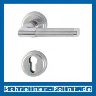 Hoppe Capri Innen-1/2-Garnitur für Kombi-Schutz Edelstahl / Messing verchromt F69 / F49, E1950/15/15S, 3355835