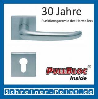 Scoop Dragon quadrat PullBloc Quadratrosettengarnitur, Rosette Edelstahl matt - Vorschau 2