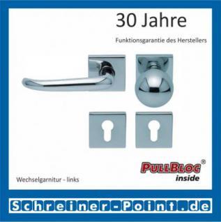 Scoop Dragon quadrat PullBloc Quadratrosettengarnitur, Rosette Edelstahl poliert - Vorschau 5