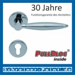 Scoop Elyps PullBloc Rundrosettengarnitur, Rosette Edelstahl poliert - Vorschau 2