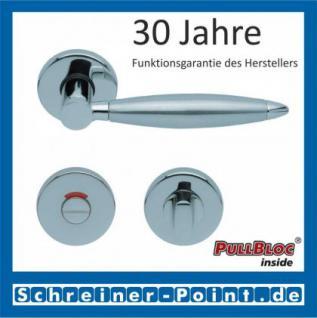 Scoop Elyps PullBloc Rundrosettengarnitur, Rosette Edelstahl poliert - Vorschau 4