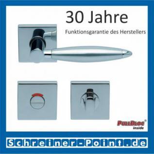 Scoop Elyps quadrat PullBloc Quadratrosettengarnitur, Rosette Edelstahl poliert - Vorschau 4