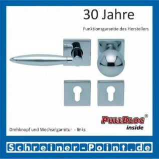 Scoop Elyps quadrat PullBloc Quadratrosettengarnitur, Rosette Edelstahl poliert - Vorschau 5