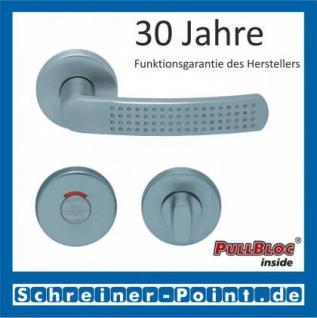 Scoop Fantasia PullBloc Rundrosettengarnitur nickelmatt, Rosette Edelstahl matt - Vorschau 4