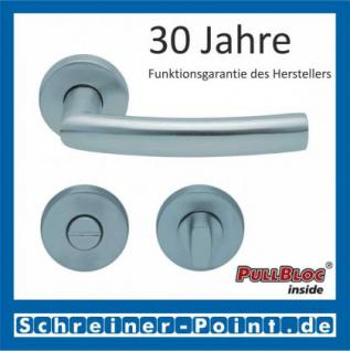 Scoop Geo PullBloc Rundrosettengarnitur, Rosette Edelstahl matt - Vorschau 3