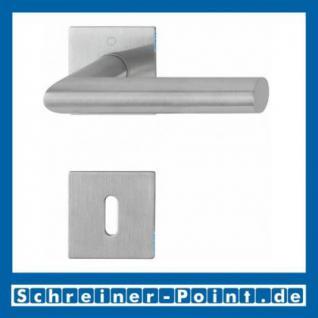 Hoppe Amsterdam Edelstahl Flachrosettengarnitur F69 E1400Z/848/848-S, 3374497, 3189988, 3189996, 3190006