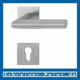 Hoppe Amsterdam Edelstahl Flachrosettengarnitur F69 E1400Z/848/848-S, 3374497, 3189988, 3189996, 3190006 - Vorschau 2