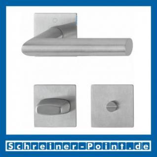 Hoppe Amsterdam Edelstahl Flachrosettengarnitur F69 E1400Z/848/848-S, 3374497, 3189988, 3189996, 3190006 - Vorschau 3