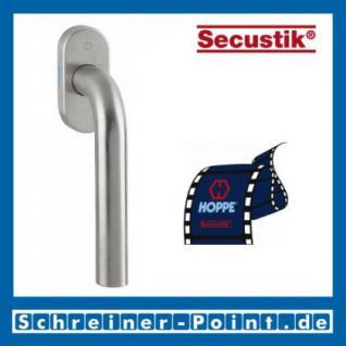 Hoppe Bonn Edelstahl Fenstergriff F69 Secustik E050/US956, 7/ 32-42 mm