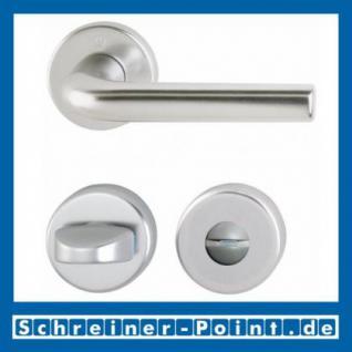 Hoppe Bonn Aluminium Rosettengarnitur F1 Natur 150/42KV/42KVS, 3386877, 3386885, 3386893, 3386931 - Vorschau 3