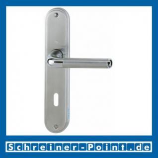 Hoppe Cortina Messing verchromt /Edelstahl matt F49/F69 Langschildgarnitur M195/3530, 8147076, 8147449, 8147100, 8147142 - Vorschau
