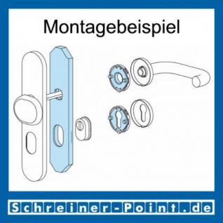 Hoppe Edelstahl Knopfschild E86G/3332ZA ES1 (SK2) (Knopfschild für Kombi-Schutz) 3332300, 3332246 - Vorschau 3