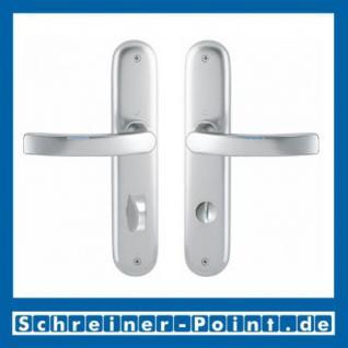 Hoppe Luxembourg Aluminium Langschildgarnitur F1 Natur 199/273P, 2962019, 2962043, 2962060, 2806551 - Vorschau 3