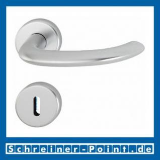 Hoppe Marseille Aluminium Rosettengarnitur F1 Natur 1138/42KV/42KVS, 2781496, 2768187, 2781681, 2782042, 2768216, 2783942 - Vorschau 1