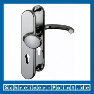 Schutzbeschlag Hoppe Marseille Aluminium F9 Stahlfarben 76G/3331/3440/1138 ES1 (SK2), 3283190, 3222258