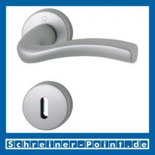 Hoppe Melbourne Aluminium Rosettengarnitur F1-2 Natur matt 1672/19KV/19KVS, 2804601, 8179947, 2804635, 2804651, 8180564, 2804694, 2804715