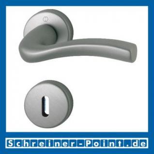 Hoppe Melbourne Aluminium Rosettengarnitur F9-2 Stahlfarben matt 1672/19KV/19KVS, 2804619, 8180556, 2804643, 2804678, 8178238, 2804731, 2804740