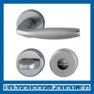 Hoppe New York Aluminium Rosettengarnitur F9 Stahlfarben 1810/42KV/42KVS, 3273215, 3273240, 3273266, 3273311 - Vorschau 3