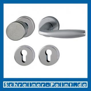 Hoppe New York Aluminium Rosettengarnitur F9 Stahlfarben 1810/42KV/42KVS, 3273215, 3273240, 3273266, 3273311 - Vorschau 4