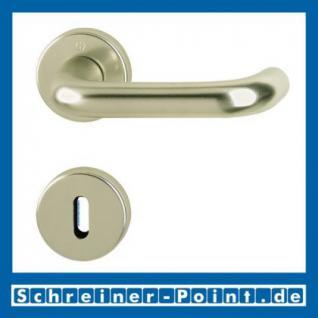 Hoppe Paris Aluminium Rosettengarnitur F2 Neusilber 138L/42KV/42KVS, 3387642, 6989362, 3387685, 3387693, 6989461, 3407519