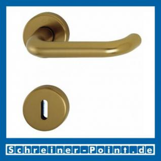 Hoppe Paris Aluminium Rosettengarnitur F4 Bronzefarben 138L/42KV/42KVS, 3387861, 3387870, 3387888, 3407527