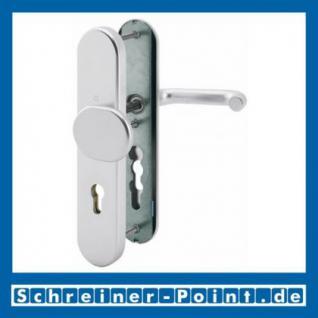Schutzbeschlag Hoppe Paris Aluminium F1 Natur 86G/3331/3330/138 ES1 (SK2), 3364521, 6938104, 3346138, 6938187