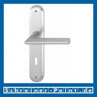 Hoppe Stockholm Aluminium Langschildgarnitur F1 Natur 1140/273P, 2785825, 2768267, 2785850, 2785884, 2768275, 2785905