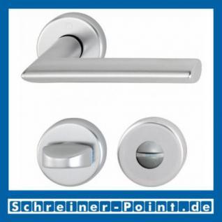 Hoppe Stockholm Aluminium Rosettengarnitur F1 Natur 1140/42KV/42KVS, 2782712, 2768291, 2783070, 2783205, 2768304, 2784101 - Vorschau 3