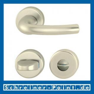 Hoppe Tokyo Aluminium Rosettengarnitur F2 Neusilber 1710/42KV/42KVS, 2805574, 8185290, 2805620, 2805654, 8184665, 2805671 - Vorschau 3