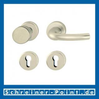 Hoppe Tokyo Aluminium Rosettengarnitur F2 Neusilber 1710/42KV/42KVS, 2805574, 8185290, 2805620, 2805654, 8184665, 2805671 - Vorschau 4