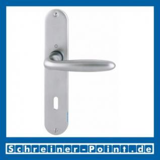 Hoppe Verona Messing Matt verchromt F98 Langschildgarnitur M151/302, 2803683, 6492573, 2803747, 6991079, 2803771, 6438394, 2804459, 6438410