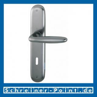 Hoppe Verona Aluminium Langschildgarnitur F9 Stahlfarben 1510/273P, 2962991, 2131397, 2963003, 2963011, 2131451, 2806614