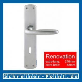 Hoppe Verona Renovation-Garnitur Messing matt verchromt F98 M151/3005, 8019721, 8025512, 8025520