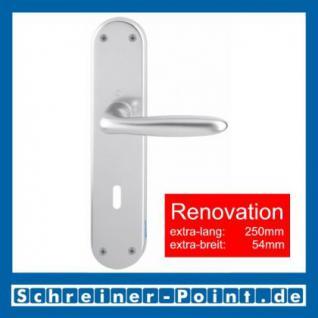 Hoppe Verona Aluminium Renovation-Garnitur F1 Natur 1510/3334, 1778965, 1779010, 1779141
