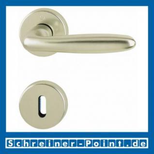 Hoppe Verona Aluminium Rosettengarnitur F2 Neusilber 1510/42KV/42KVS, 2963071, 6989313, 2963097, 2963100, 6995088, 2801856