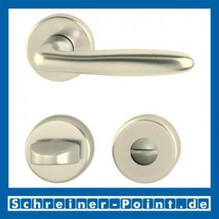 Hoppe Verona Aluminium Rosettengarnitur F2 Neusilber 1510/42KV/42KVS, 2963071, 6989313, 2963097, 2963100, 6995088, 2801856 - Vorschau 3