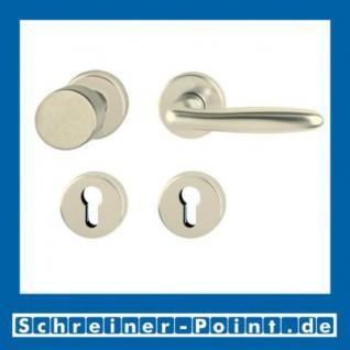 Hoppe Verona Aluminium Rosettengarnitur F2 Neusilber 1510/42KV/42KVS, 2963071, 6989313, 2963097, 2963100, 6995088, 2801856 - Vorschau 4