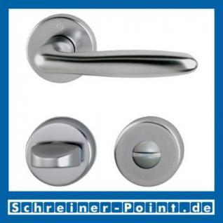 Hoppe Verona Aluminium Rosettengarnitur F9 Stahlfarben 1510/42KV/42KVS, 2963177, 2131485, 2918051, 2963185, 2131493, 2801872 - Vorschau 3