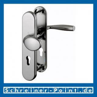 Schutzbeschlag Hoppe Vitoria Aluminium F9 Stahlfarben 76G/3331/3440/1515 ES1 (SK2), 3337611, 3233256