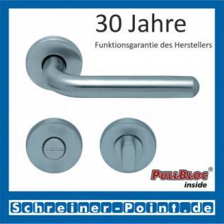 Scoop Image II PullBloc Rundrosettengarnitur, Rosette Edelstahl matt - Vorschau 3