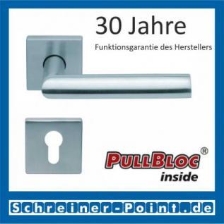 Scoop Jade I quadrat PullBloc Quadratrosettengarnitur, Rosette Edelstahl matt - Vorschau 2