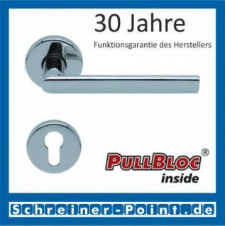 Scoop Jade II PullBloc Rundrosettengarnitur, Rosette Edelstahl poliert - Vorschau 2