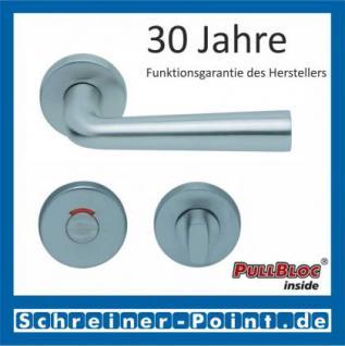 Scoop Jericho PullBloc Rundrosettengarnitur, Rosette Edelstahl matt - Vorschau 4