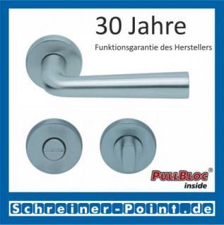 Scoop Jericho PullBloc Rundrosettengarnitur, Rosette Edelstahl matt - Vorschau 3